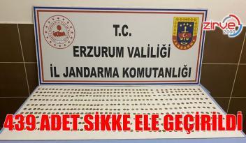 ERZURUM'DA SİKKE ELE GEÇİRİLDİ