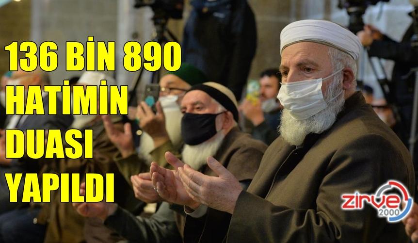 1001 HATİMDE REKOR KIRILDI