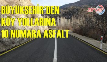KÖY YOLLARINA KALİTE KAZANDIRDI