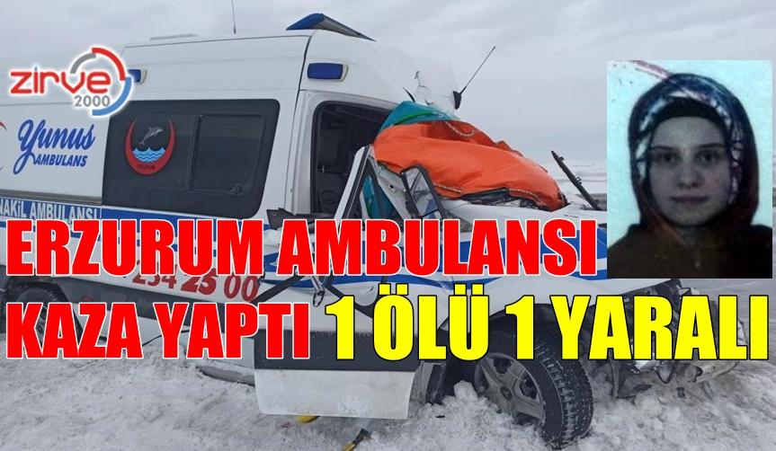 AMBULANS TIR'A ÇARPTI