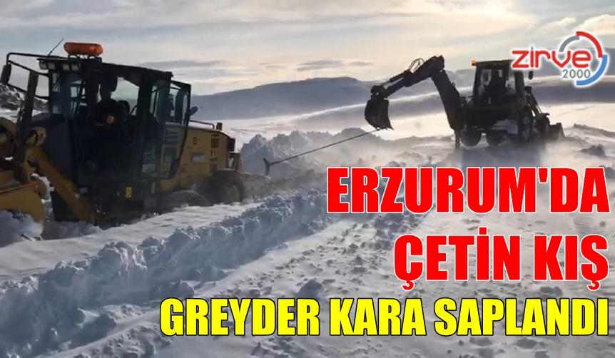 GREYDER TİPİDE KARA SAPLANDI