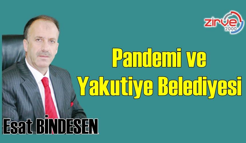 Pandemi ve Yakutiye Belediyesi