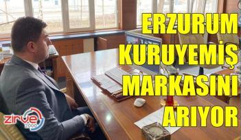 ERZURUM'DA KURUYEMİŞ ZİRVESİ