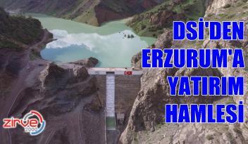 DSİ Son 18 yılda Erzurum'da 6 Baraj 12 gölet yaptı