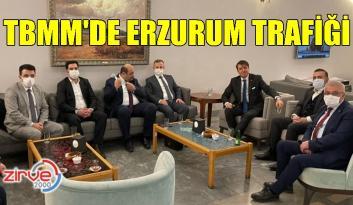 TBMM'de Erzurum trafiği