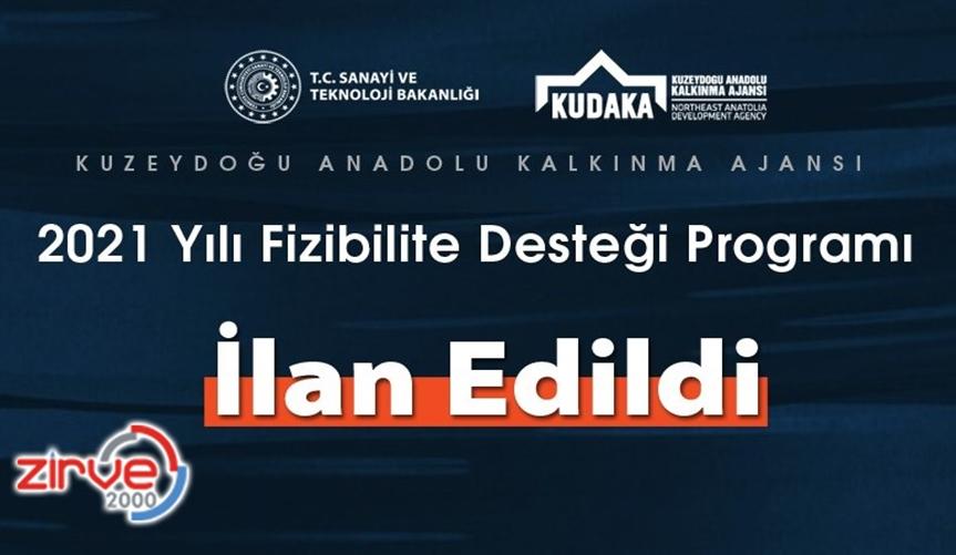KUDAKA 2021 yılı fizibilite desteği programı açıklandı