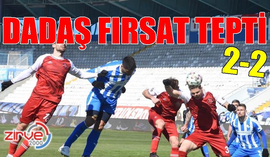 BB Erzurumspor: 2 Fatih Karagümrük:2