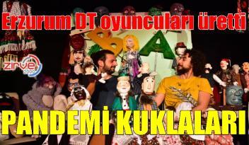 Erzurum'da adeta yeniden hayat buldu