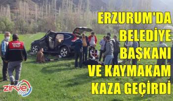 ERZURUM'DA KAZA 4 YARALI