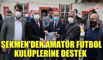 Başkan Sekmen: Erzurum'da amatör futbol kulüplerine önemli yatırımlar yapılacak