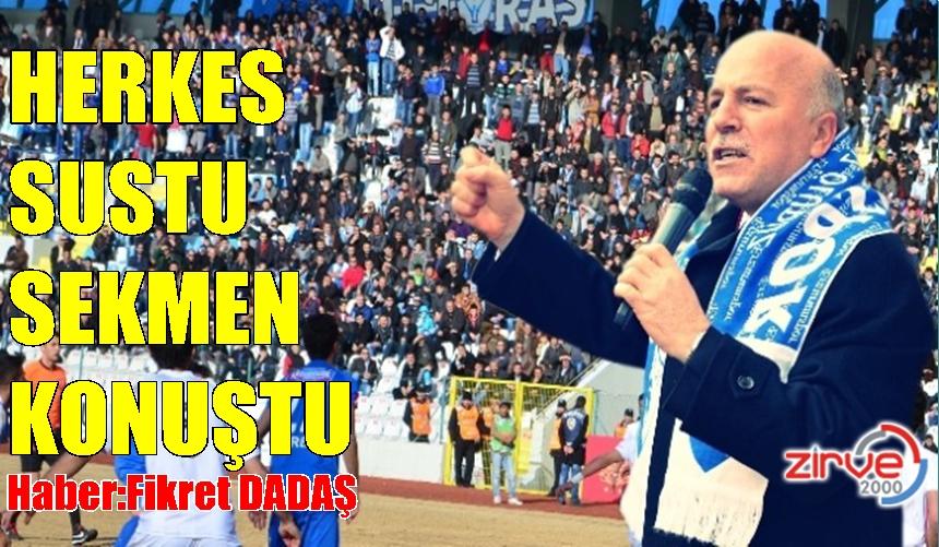 """SEKMEN : """" Erzurumspor, yine başa oynayacak """""""
