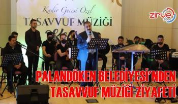 Palandöken Belediyesi'nden tasavvuf müziği konseri