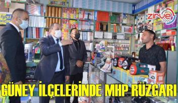 Güney ilçelerinde MHP'ye yoğun ilgi