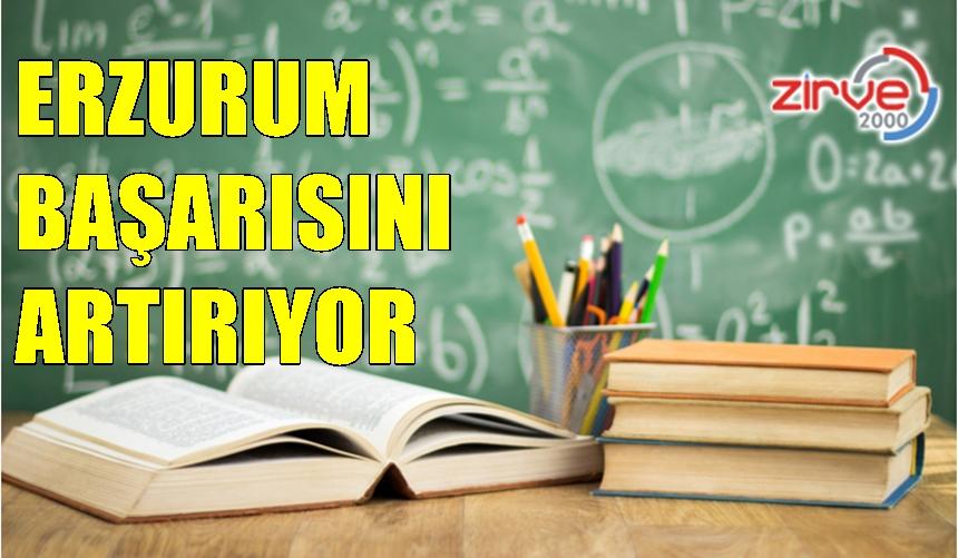 Erzurum eğitimde başarısını artırıyor