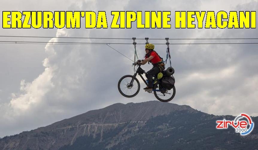 UZUNDERE'DE ZIPLINE YAPTI