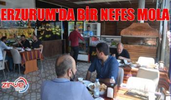 'Bir Nefes Mola' kafe hizmete açıldı